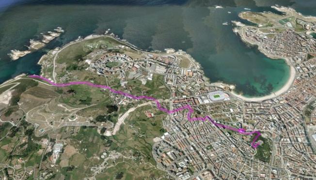 Ruta do Parque de Santa Margarita ao Portiño