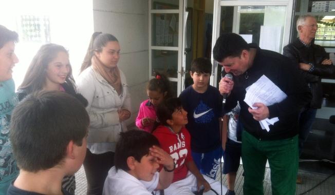 Xurxo Souto entrevista os Rumberos do Portiño